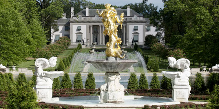 Nemours Mansion in Wilmington, DE